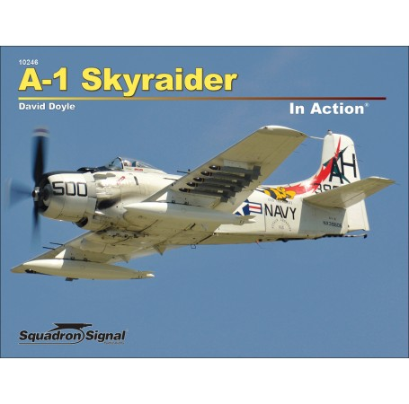 A-1 Skyraider In Action