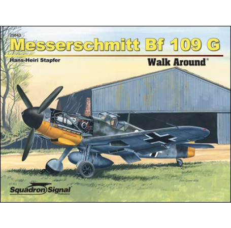 Messerschmitt Bf 109G Walk Around