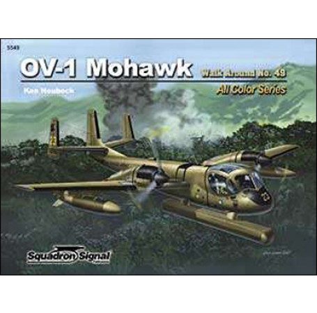 OV-1 Mohawk Walk Around