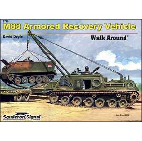 M88 Armored Recovery Vehicle Walk Around