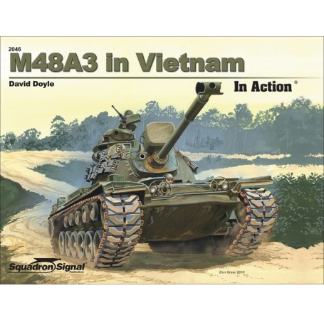 M48A3 in Vietnam In Action