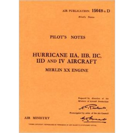 Hawker Hurricane II - Pilot's Notes