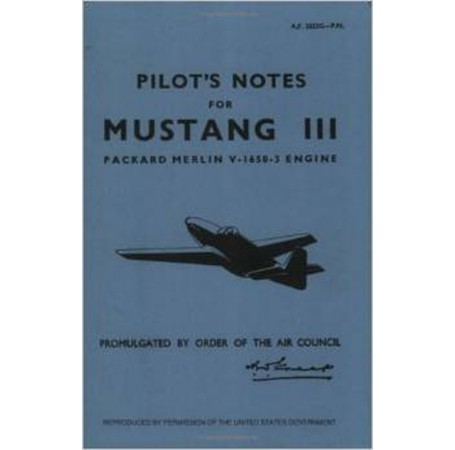 North American Mustang III - Pilot's Notes