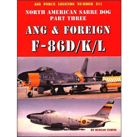 North American Sabre Dog ANG & Foreign F-86D/K/L - Part 3