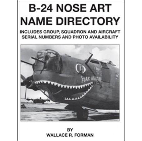 B-24 Nose Art Name Directory