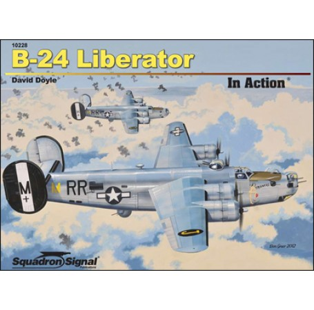 B-24 Liberator In Action