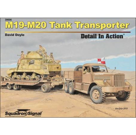 M19-M20 Tank Transporter Detail In Action