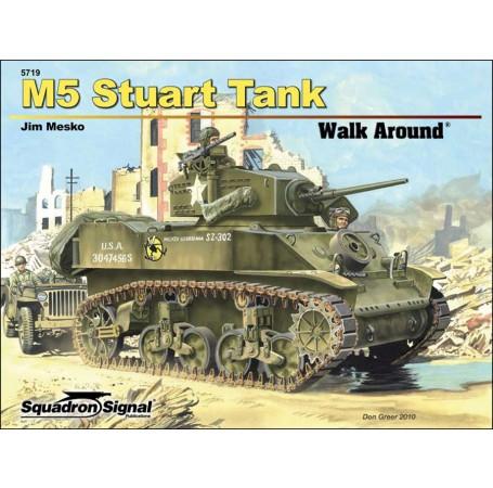 M5/M5A1 Stuart Walk Around