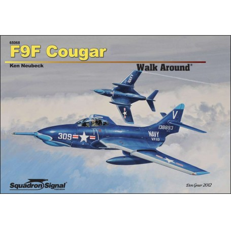 F9F Cougar Walk Around - Hardcover