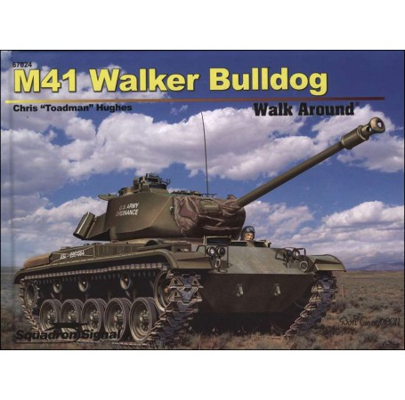 M41 Walker Bulldog Walk Around - Hardcover