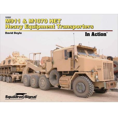 M911 & M1070 HET Heavy Equipment Transporters In Action