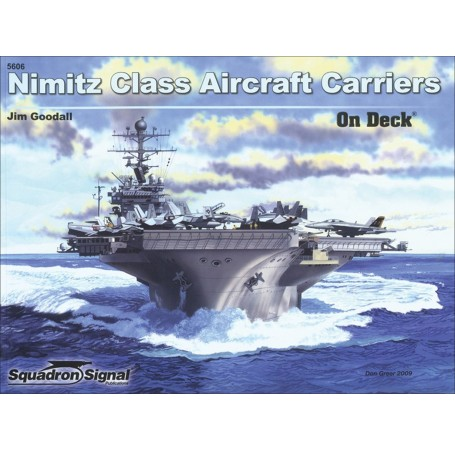 Nimitz Class Aircraft Carriers On Deck