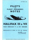 Handley Page Halifax - Pilot's Notes