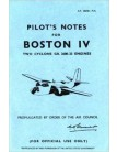 Douglas Boston 4 - Pilot's Notes