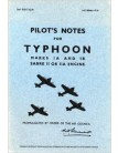 Hawker Typhoon IA & IB - Pilot's Notes