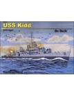 USS Kidd On Deck