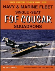 Navy & Marine Fleet Single-Seat F9F Cougar Squadrons