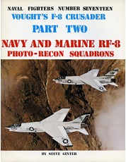 Vought's F-8 Crusader - Part 2: Navy and Marine RF-8 Photo Recon Squadrons