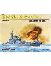 USS North Carolina Squadron At Sea