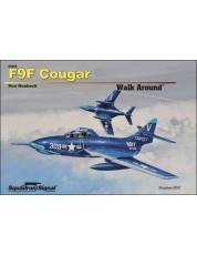 F9F Cougar Walk Around - Hardcover