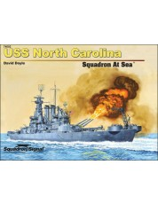 USS North Carolina Squadron At Sea - Hardcover