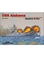 USS Alabama Squadron At Sea - Hardcover