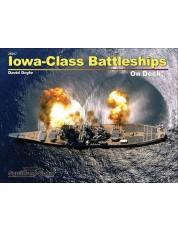 Iowa Class Battleships On Deck